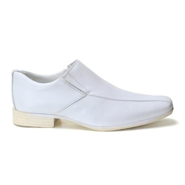 Sapato Social Masculino Branco