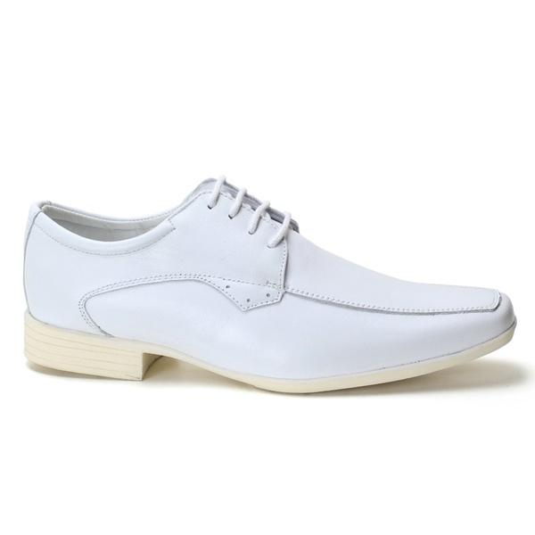 Sapato Social Mestiço Branco