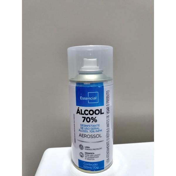 ALCOOL SPRAY 70% 100 ML DESINFETANTE USO GERAL