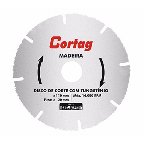 DISCO CORTE MADEIRA 110MM