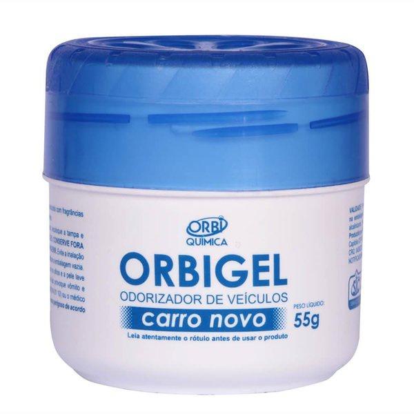 ODORIZADOR ORBIGEL CARRO NOVO 55GR