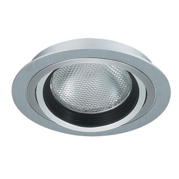 SPOT EMBUTIR 01 LAMPADA E27 BRANCO
