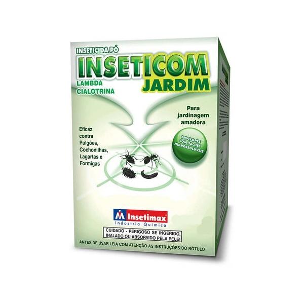 INSETICIDA EM PÓ PARA JARDIM INSETCOM 25 GR