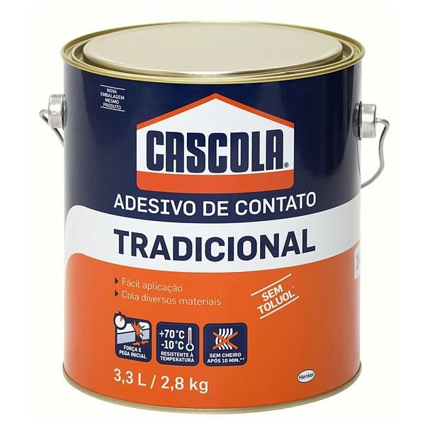ADESIVO COLA DE CONTATO 2,8KG.