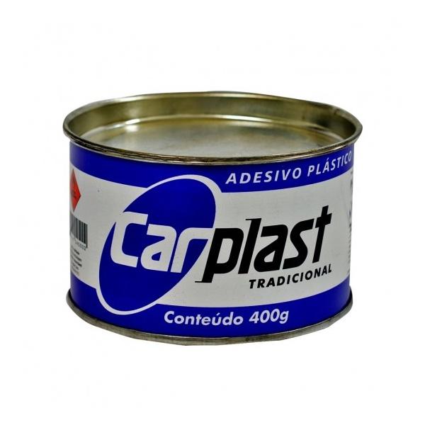 MASSA PLASTICA 400GR. CINZA CARPLAST