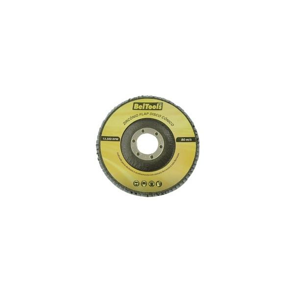 DISCO FLAP CONICO 7 GRANA 80 180 X 22,2MM