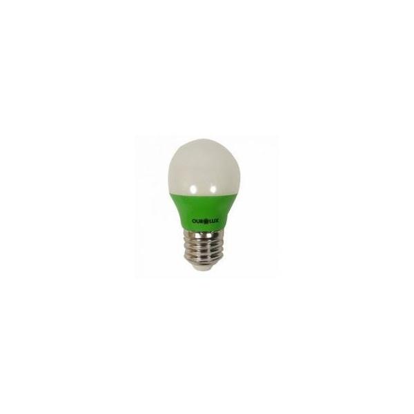 LAMP. SUPERLED 05W BIV BULBO VERDE
