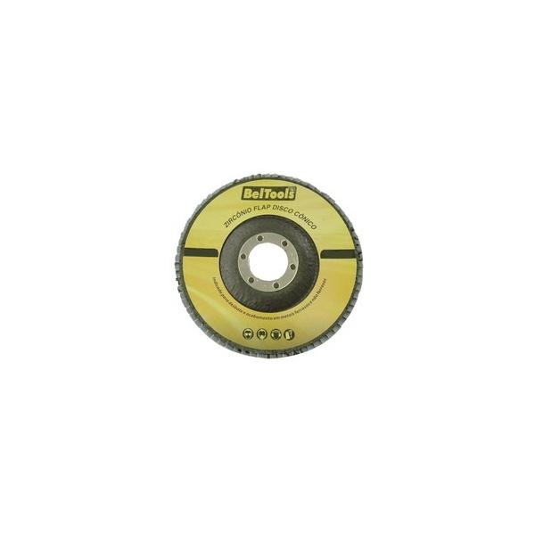 DISCO FLAP CONICO 7 GRANA 50 180 X 22,2MM