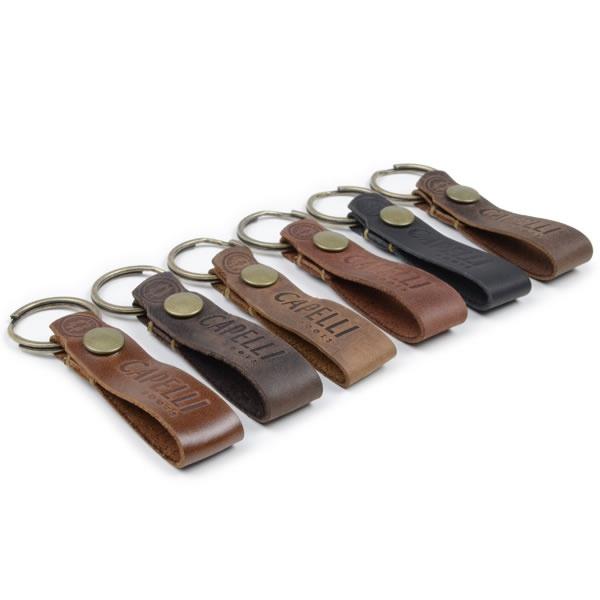 Chaveiro Couro Legítimo Capelli Boots