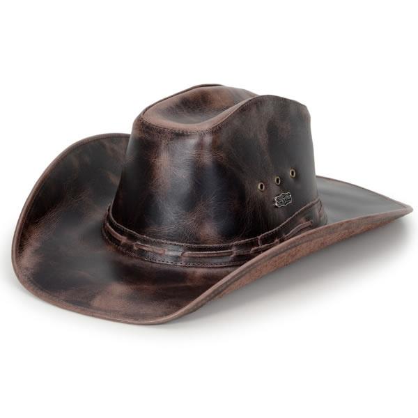 Chapéu Moda Country Estilo Americano Fóssil Tabaco