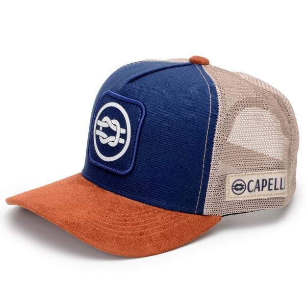 Boné Capelli Boots Personalizado Oficial Azul Marrom