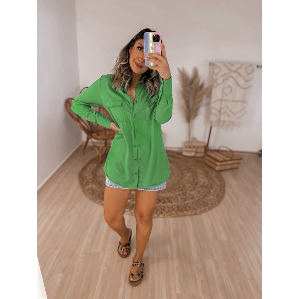 Chemise Carolla Verde