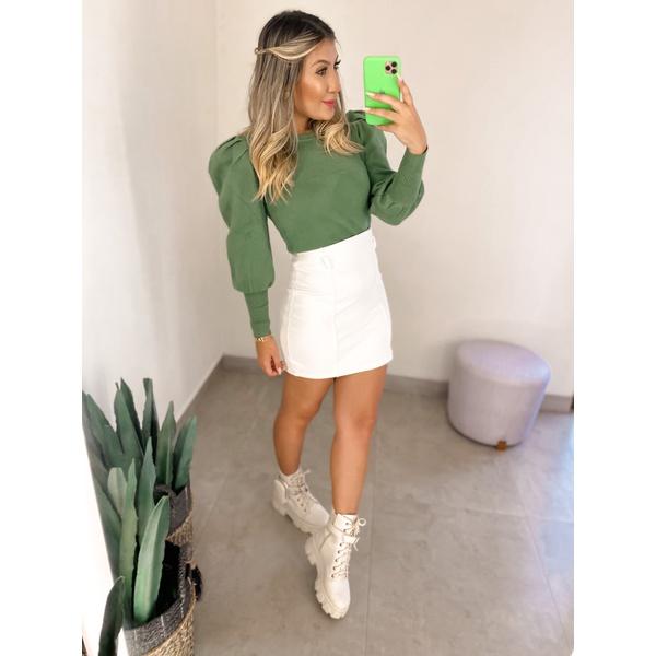 Blusa Tricot Bel Verde