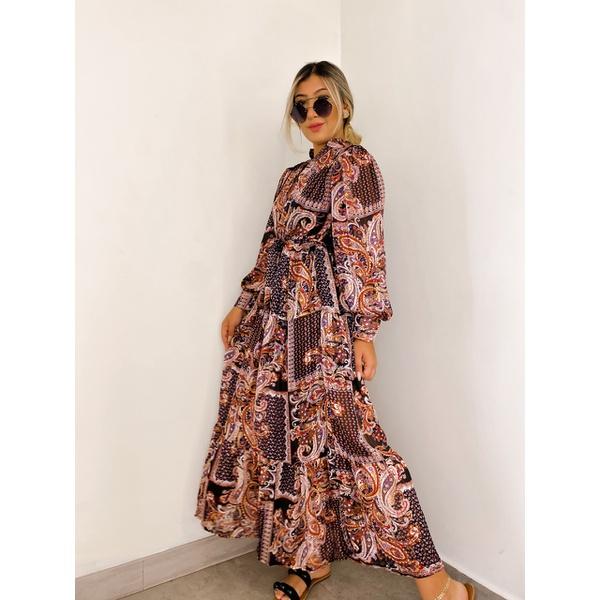 Vestido Marcela Preto