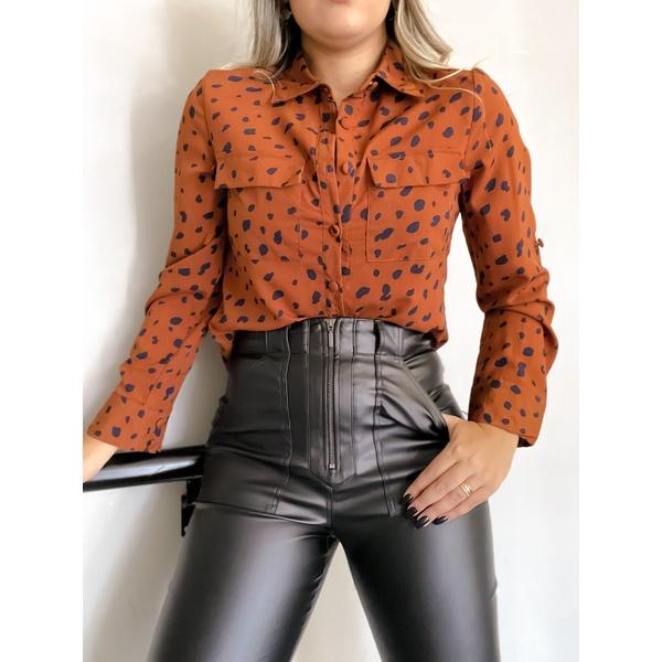 Camisa Luxury Marrom