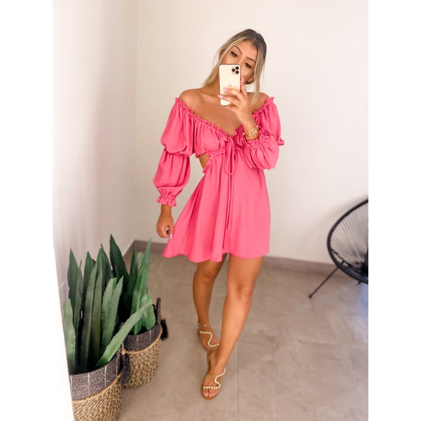 Vestido Laila Rosa