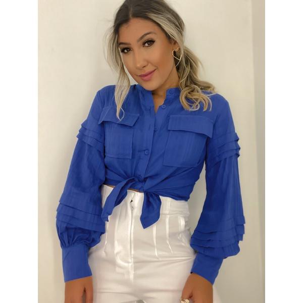 Camisa Naty Azul