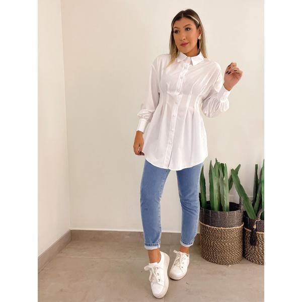 Camisa Giovana Branca