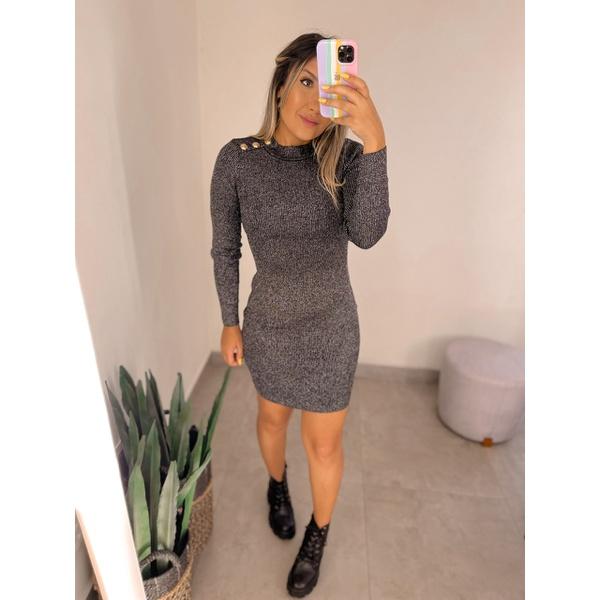 Vestido Nina Chumbo