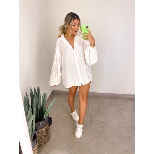 Camisa Over Branca