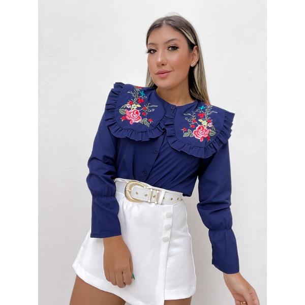 Camisa Mel Azul