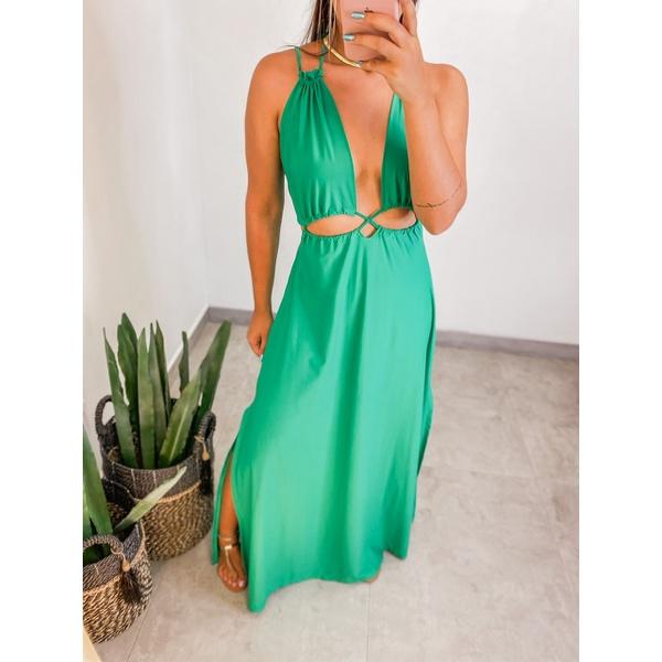 Vestido Jade Verde