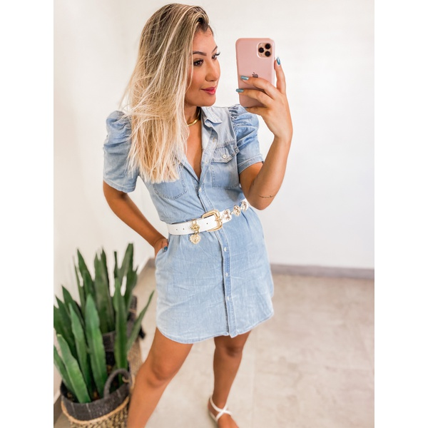 Vestido Jeans Claro