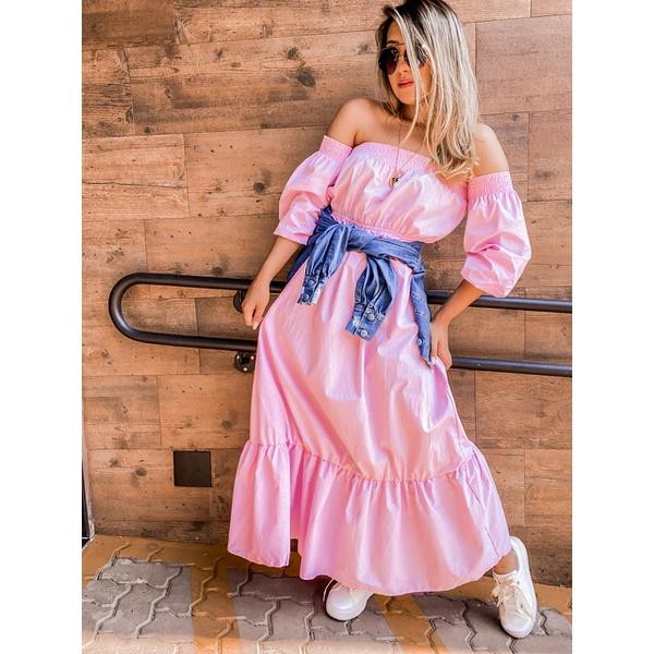 Vestido Mel Rosa