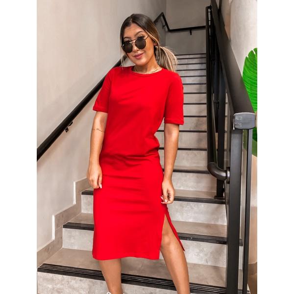 Vestido Loren Vermelho
