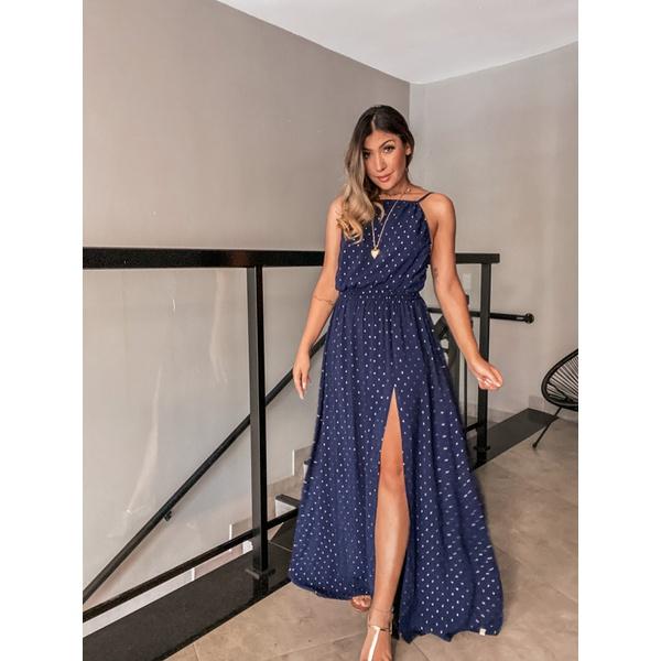 Vestido Luz Azul