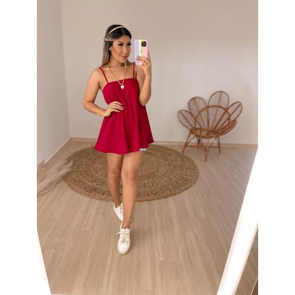 Blusa Olivia Vermelho Vermelho