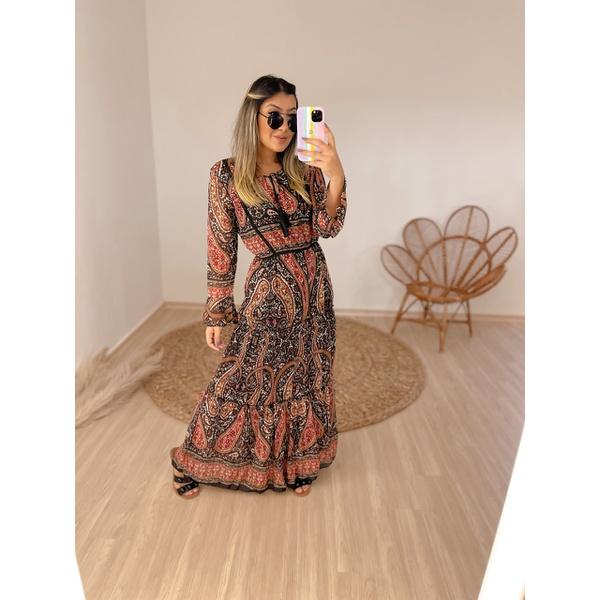 Vestido Lila Preto
