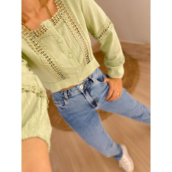 Cropped Lorena Verde Verde