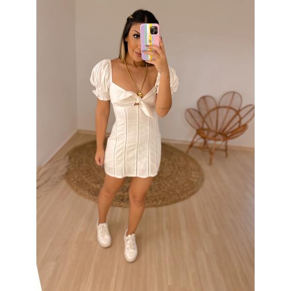 Vestido Sabrina Branco