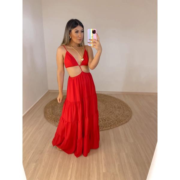 Vestido Mariana Vermelho