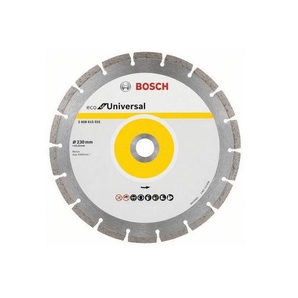 Disco Diamantado Eco For Segmentado 230mm 2608.615.031-000 - Bosch