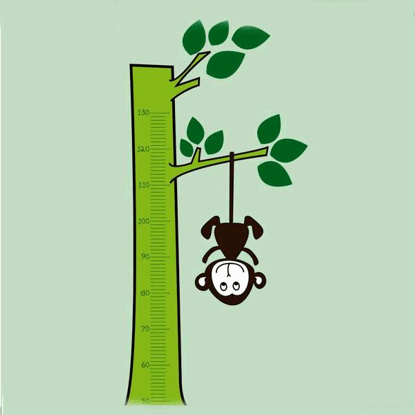 Régua de Crescimento - Macaco