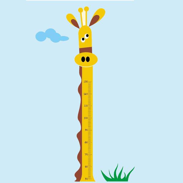 Régua de Crescimento - Girafa