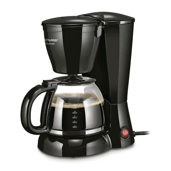 Cafeteira Gourmet Elétrica 30 Xícaras Preta 127V BE03 - Multilaser