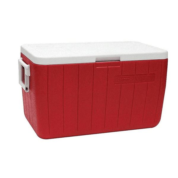 Caixa Térmica 48 QT 45,4 Litros Vermelha - Invicta