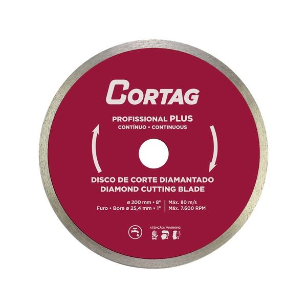 Disco de Corte Diamantado Profissional Plus 200mm
