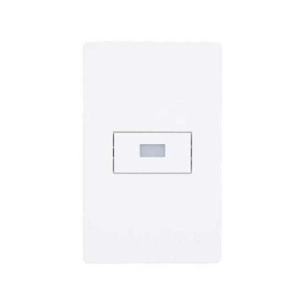 """Conjuntos 4×2"""" Balizador modular luz branca quente bivolt – Branco"""