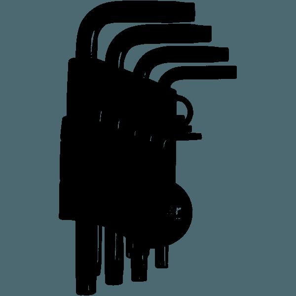 Jogo Chave Torx 9 Pc T10 A T50 Vtx-4 Crv - Vonder