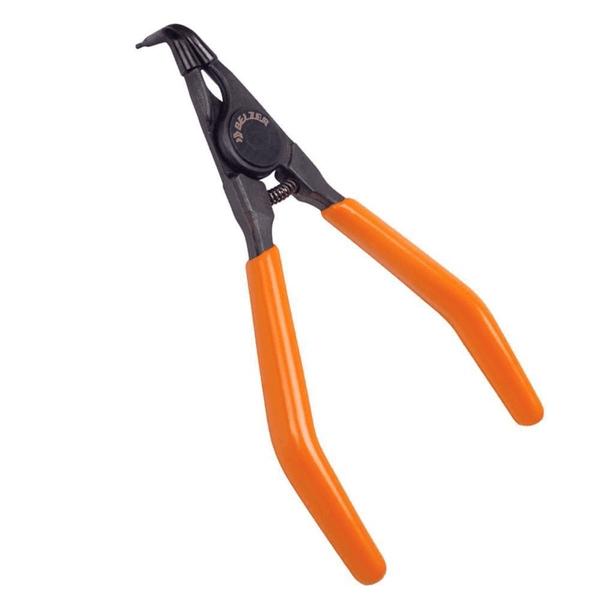 Alicate Para Anéis Externos Bico Curvo 9' 40-100mm - Belzer