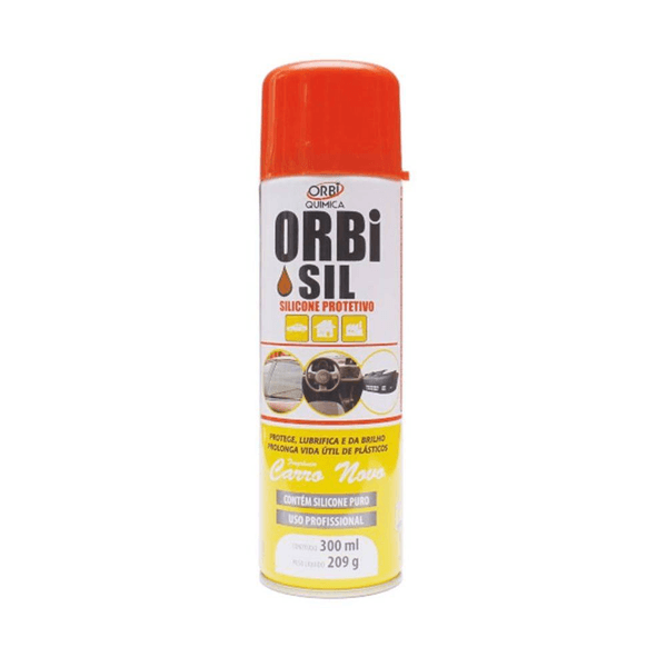 Silicone Protetivo Spray 300ml Orbisil - Orbi