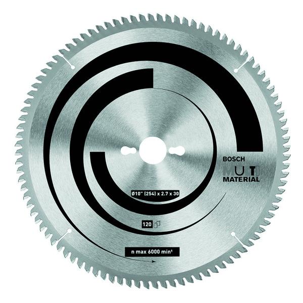 Disco Serra Circular 10' Alumínio 120 Dentes - Bosch