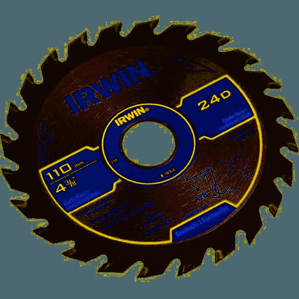 Serra Circular Widea 110mmx24dx20mm Irwin 4-3/8