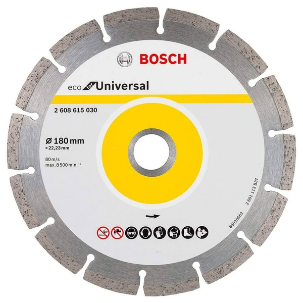 Disco Corte Diamantado Bosch 180mm