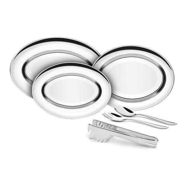 Kit Para Servir Tramontina Buena Em Aço Inox 6 Peças 64700030