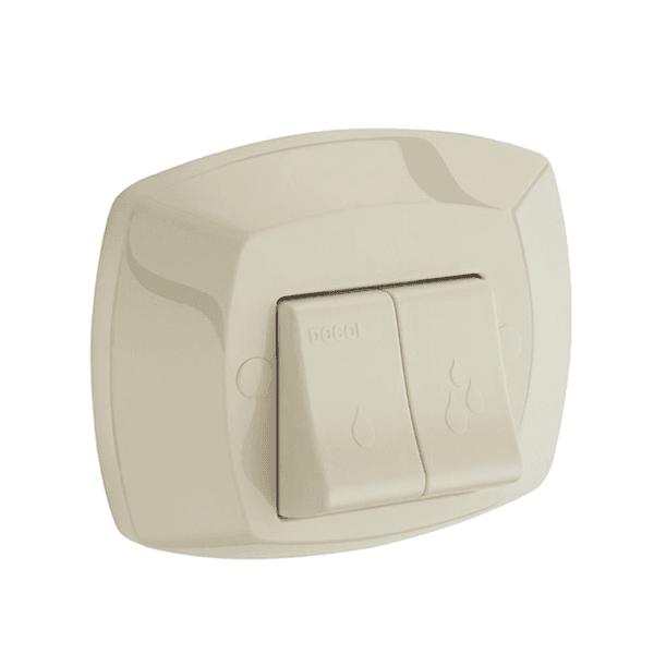 Docol Acabamento Para Válvula de Descarga Salvagua Bege - Docol